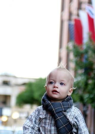 noah in scarf